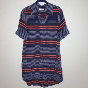 Equipment Silk Slim Signature Stripe Shirt Dress